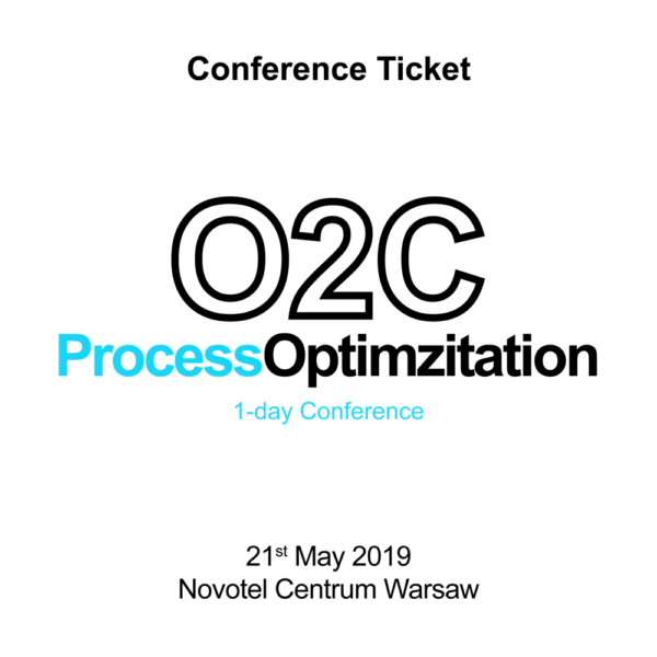 O2C_Process_Optimizationt_Conference-ticket_Warsaw_connect-minds